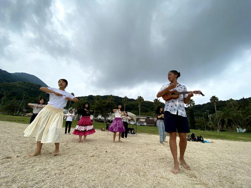 ハワイ移民発祥で聖地・周防大島(山口県)でハワイ文化体験