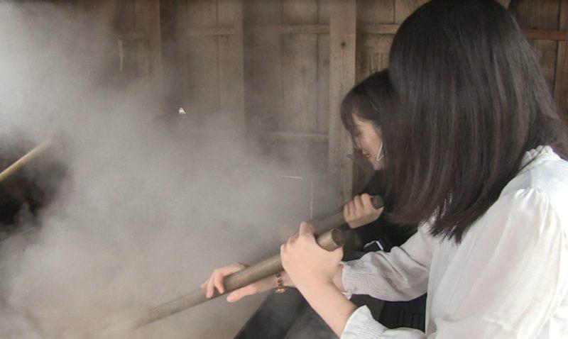 竹原市で体験できる塩づくり