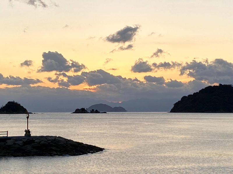 周防大島で初日の出