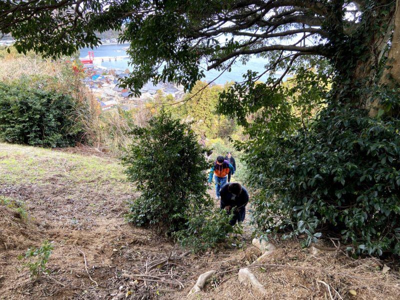 お正月は家族と親戚で周防大島(伊保田)ハイキング