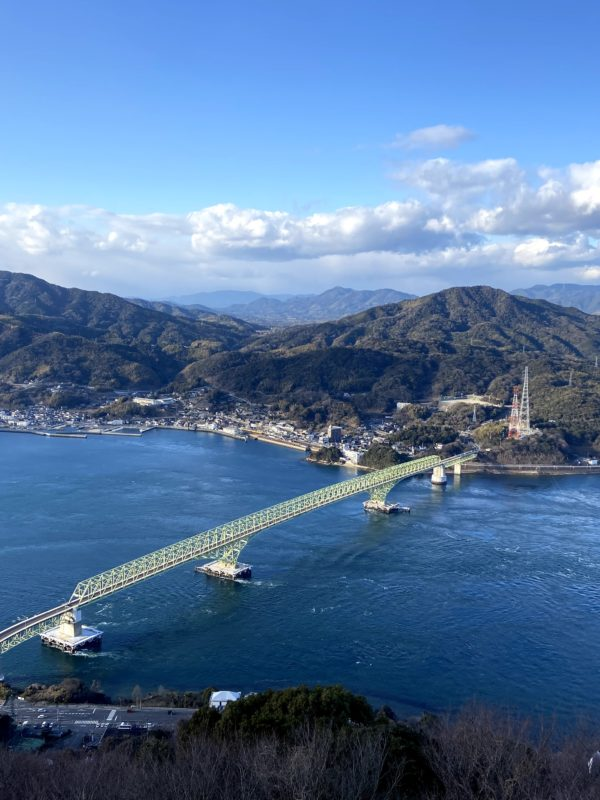 山口県周防大島町「飯の山展望台」からの絶景